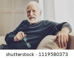 positive attitude. happy... | Shutterstock . vector #1119580373