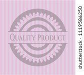 quality product retro style... | Shutterstock .eps vector #1119586250