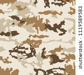 fashionable camouflage pattern  ... | Shutterstock .eps vector #1119589583