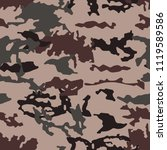 fashionable camouflage pattern  ... | Shutterstock .eps vector #1119589586