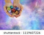 crystal healer offering... | Shutterstock . vector #1119607226