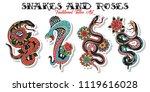 vector american traditional...   Shutterstock .eps vector #1119616028