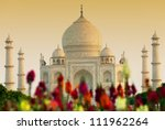 Taj Mahal In Sunset Light  Agr...