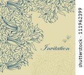template frame design for... | Shutterstock .eps vector #111962399