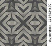 seamless celtic pattern.... | Shutterstock .eps vector #1119634670
