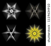 symbols of sacred geometry ... | Shutterstock .eps vector #1119634910