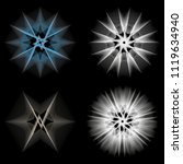 symbols of sacred geometry ... | Shutterstock .eps vector #1119634940