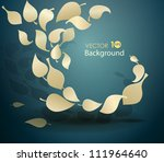 abstract leaves of paper. eps 10 | Shutterstock .eps vector #111964640