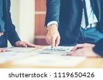 banking business or financial... | Shutterstock . vector #1119650426