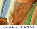 art abstract hand drawn... | Shutterstock . vector #1119650543