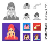 cosmetic  salon  hygiene  and...   Shutterstock .eps vector #1119671744