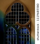 close up of gothic latticed... | Shutterstock . vector #1119685580