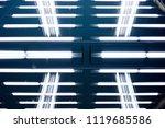 luminous structure. double...   Shutterstock . vector #1119685586