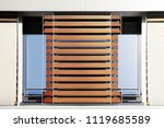 louvers   blinds   jalousie... | Shutterstock . vector #1119685589