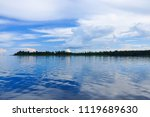 blue sky with cumulus clouds...   Shutterstock . vector #1119689630