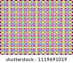 abstract texture   multicolored ... | Shutterstock . vector #1119691019
