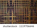 abstract gold different size of ... | Shutterstock . vector #1119706646
