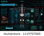 scanning cyborg in concept hud...