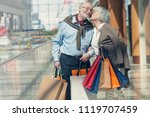 adult senior couple with... | Shutterstock . vector #1119707459
