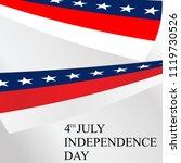 us independent day vector...   Shutterstock .eps vector #1119730526