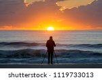 Photographer At Sun Rise