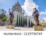 medell n  antioquia   colombia  ... | Shutterstock . vector #1119736769