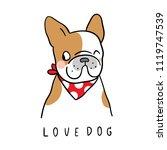 vector illustration character... | Shutterstock .eps vector #1119747539