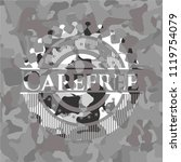 carefree on grey camouflage... | Shutterstock .eps vector #1119754079