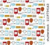 ambulance vector medicine... | Shutterstock .eps vector #1119754163