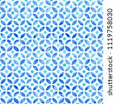 moroccan simple seamless tile   ... | Shutterstock . vector #1119758030