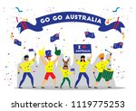 russia 2018 world cup ...   Shutterstock .eps vector #1119775253
