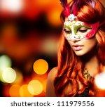Masquerade. Beautiful Girl In ...