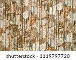 stone wall texture interior... | Shutterstock . vector #1119797720