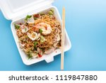 convenience food in take away... | Shutterstock . vector #1119847880