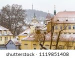 impression of the czech capital ... | Shutterstock . vector #1119851408