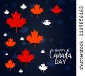 vector illustration of a banner ... | Shutterstock .eps vector #1119856163