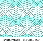 pastel teal colored scales... | Shutterstock .eps vector #1119860450