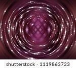 brilliant fuchsia tunnel... | Shutterstock . vector #1119863723