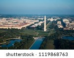 aerial image of washington dc... | Shutterstock . vector #1119868763