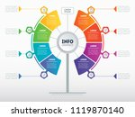 business presentation concept... | Shutterstock .eps vector #1119870140