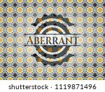 aberrant arabic badge... | Shutterstock .eps vector #1119871496
