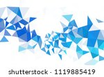 light blue vector shining... | Shutterstock .eps vector #1119885419