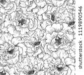seamless pattern of sketches of ... | Shutterstock .eps vector #1119890546