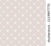 flower geometric pattern.... | Shutterstock .eps vector #1119897770