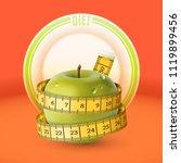 vector illustration of green... | Shutterstock .eps vector #1119899456