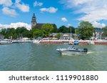 naantali  finland   23 6 2018 ... | Shutterstock . vector #1119901880