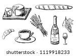 part 2. food design elements...   Shutterstock .eps vector #1119918233