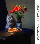 Still Life With Beautiful Lily...