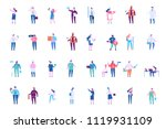 people occupations baig vector... | Shutterstock .eps vector #1119931109