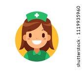 nurse icon medical and health...
